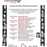die Lesungen der Mörderischen Schwestern im Kirchencafé 2012